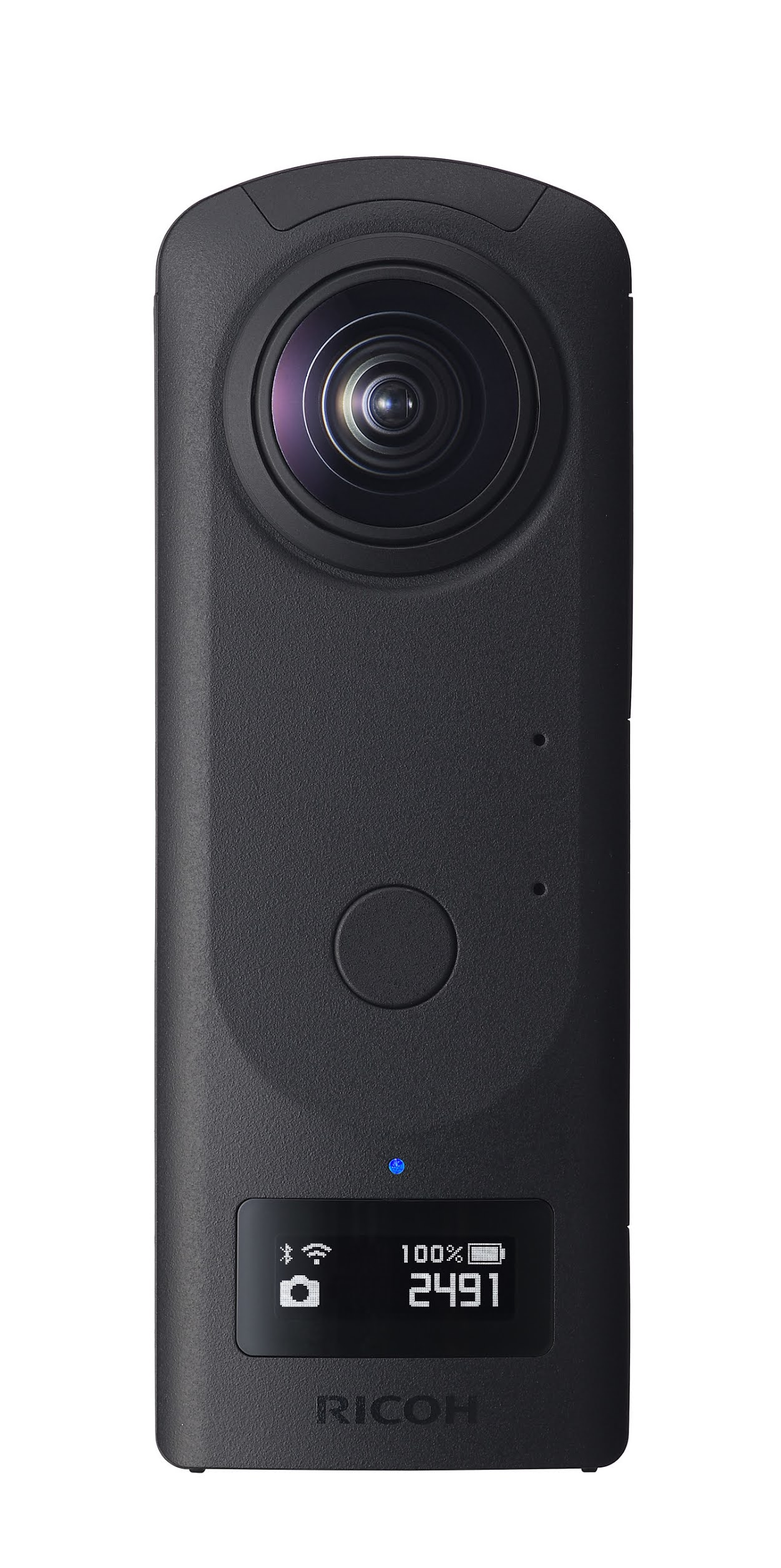 A camera that can shoot 360-degree spherical images in a single shot: RICOH THETA Z1 51GB