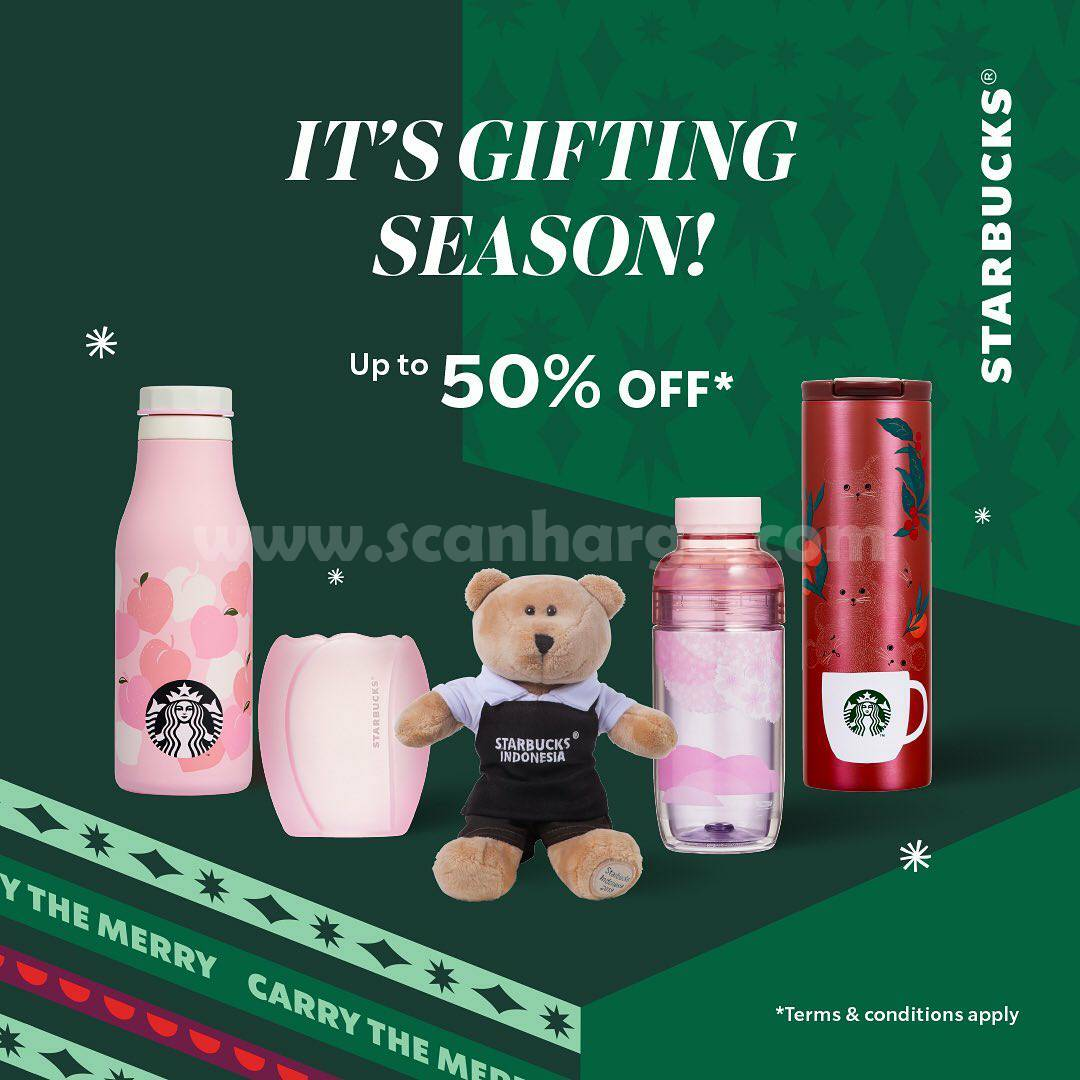 Starbucks Promo Merchandise – Diskon Spesial hingga 50%