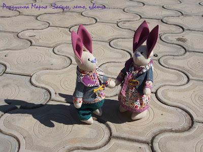 заяц зай зайка игрушка ручная работа
