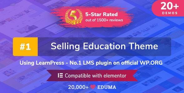 Education WordPress Theme Eduma Nulled - Free Download