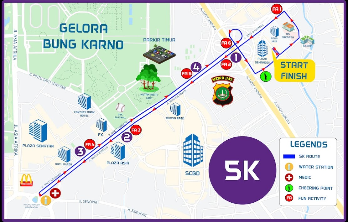 Rute MRCCC Run for Hope • 2020