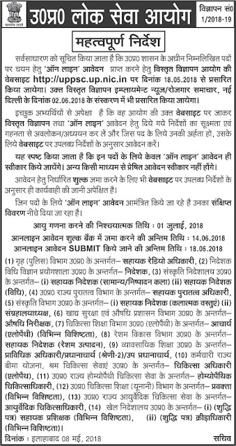 UP Ayush Doctor Vacancy