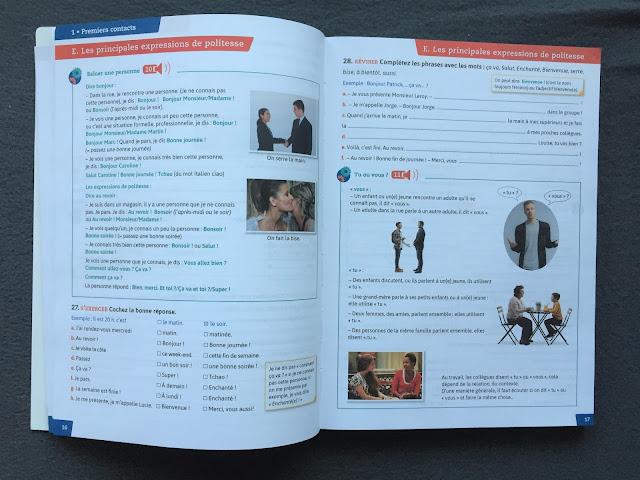 """Recenzje #151 - """"Pratique vocabulaire"""" + KOD RABATOWY - przykładowe strony - Francuski przy kawie"""