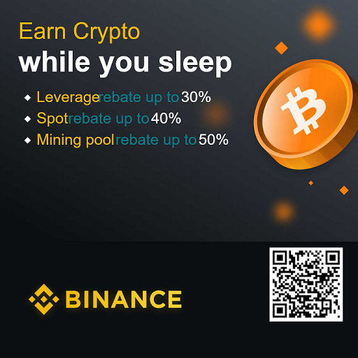 Earn CryptoCurrency Together with Binance    https://www.binance.com/en/register?ref=117441018