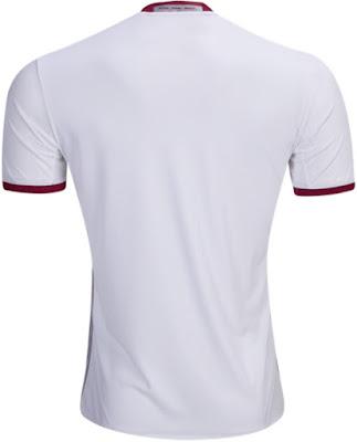 adidas - FC Bayern München UCL Replica Jersey White  Aluminum  Cardinal