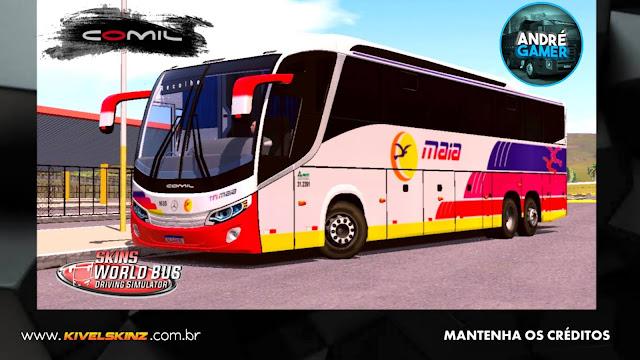 COMIL 1200 6X2 - VIAÇÃO EXPRESSO MAIA
