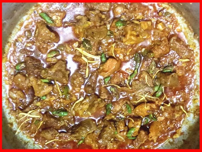 Special Cooking Beef Gravy Karahi Recipe