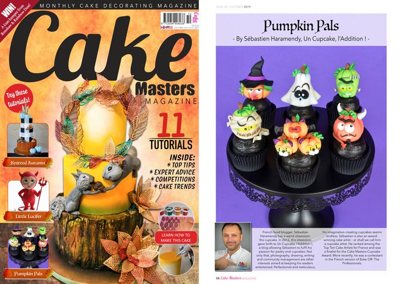 Cake Masters Magazine Août 2019