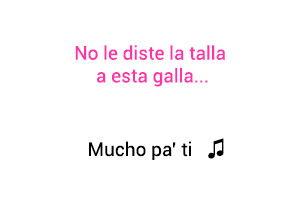 Farina Mucho Pa' Ti significado de la canción Farina.