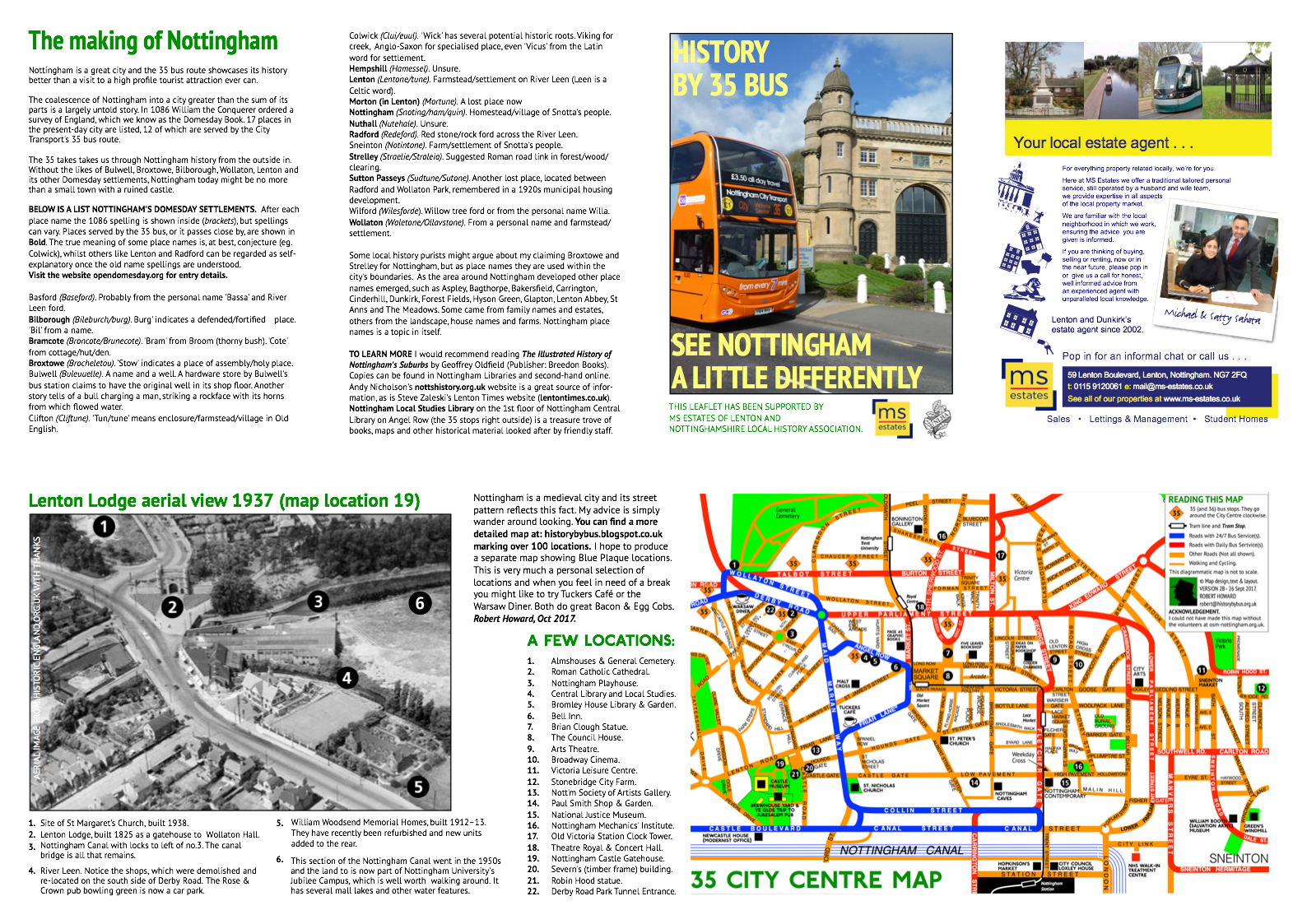 historical leaflet If you are planning an event for a city or state, then you need to know how to prepare a tourist leaflet here are some simple tips to ensure that yours will attract.