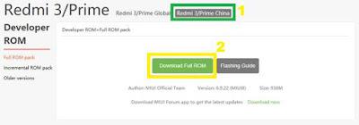 Cara Unlock Bootloader MIUI 8 di Smartphone Xiaomi