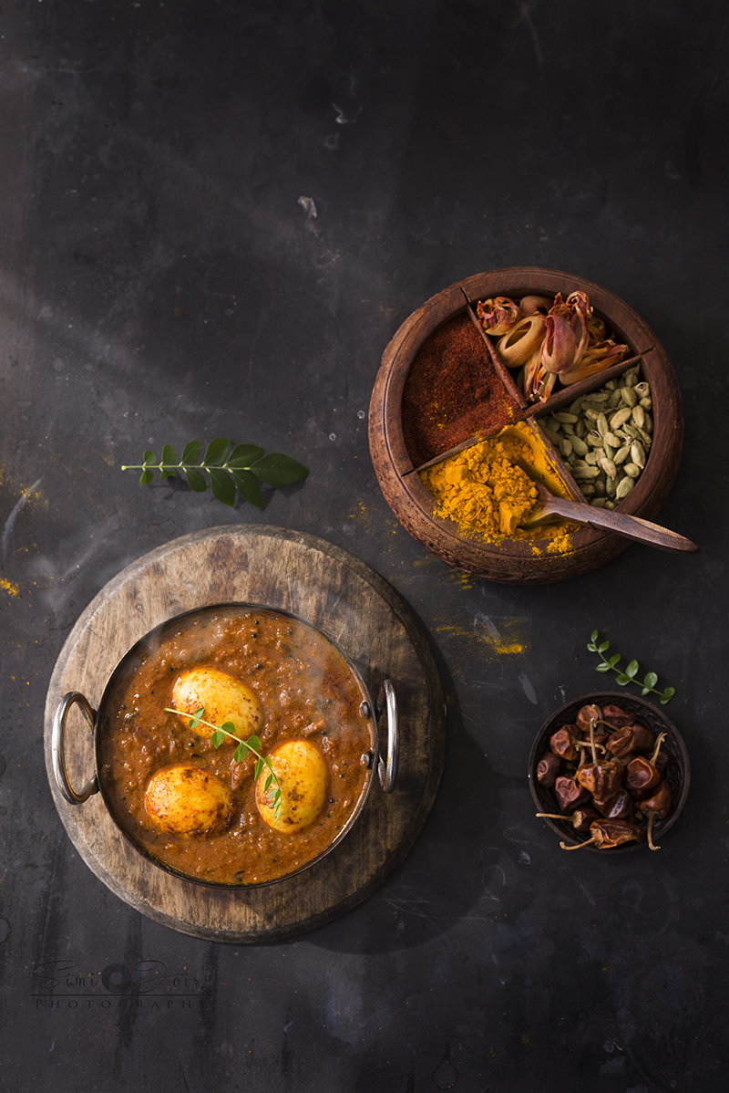 Indian curry, Chettinad, spicy, Food photography, Simi Jois