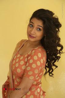Telugu Actress Santoshi Sharma Latest Stills in Salwar Kameez at HBD Movie Teaser Launch  0044.JPG
