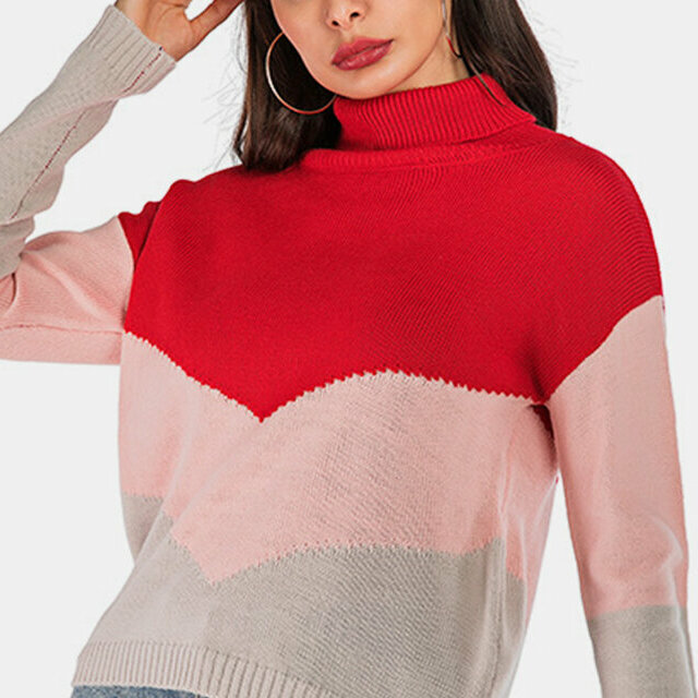 Knitted Womens Pullover Sweaters