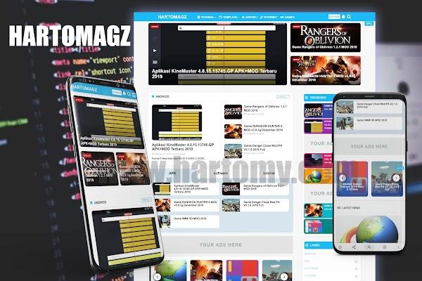 Hartomagz | Template Blogger Gratis