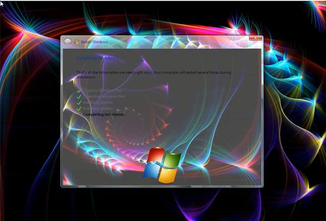تحميل نسخة  Windows 7 Cool x86 & x64 باللغتين العربية والانجليزية مفعله