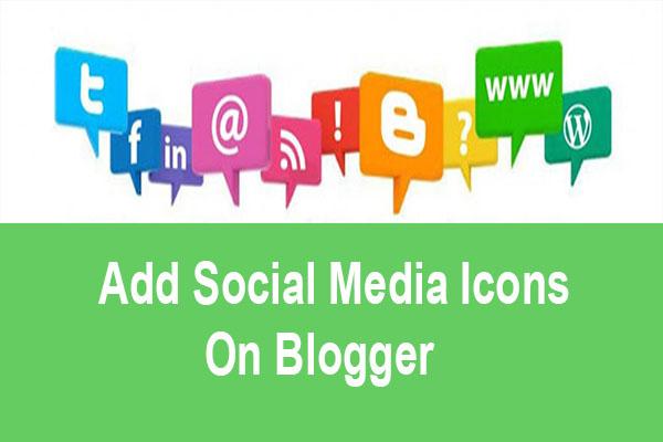 add social media buttons