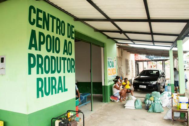 Agricultores agradecem a gestão municipal pela criação do Centro de Apoio ao Produtor Rural