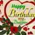 Happy birthday to daughter