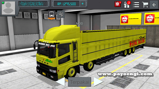 livery mod fuso sg tribal wsp wr truck 1