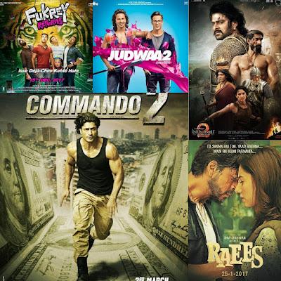 Bollywood movies 2017