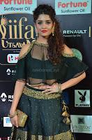 Ritika Singh in a Ethnic Deep Neck Dark Green Choli Ghagra at IIFA Utsavam Awards March 2017 ~ 011.JPG