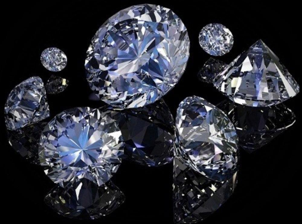 Kim cương tự nhiên rất quý hiếm