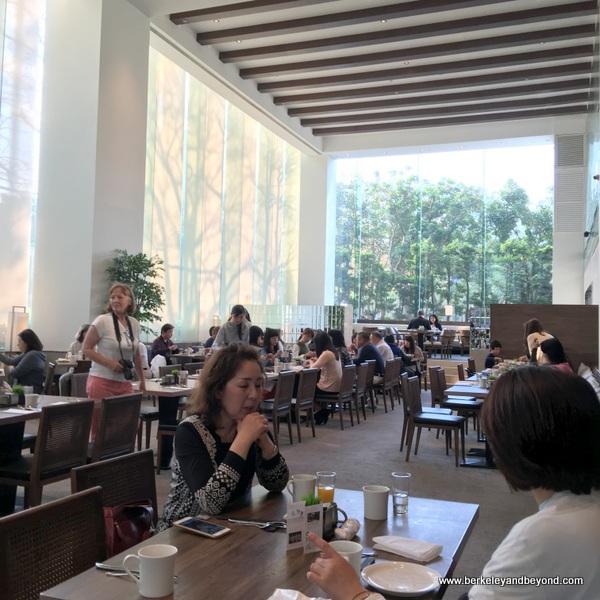 breakfast room at Regent Taipei in Taiwan