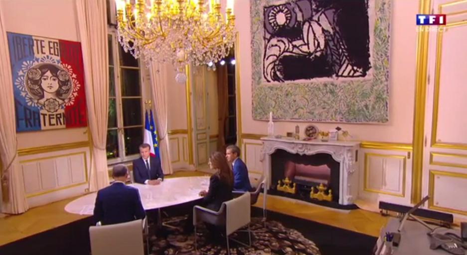 Design élysée Macron