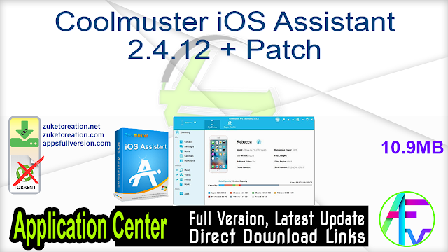 Coolmuster iOS Assistant 2.4.12 + Patch