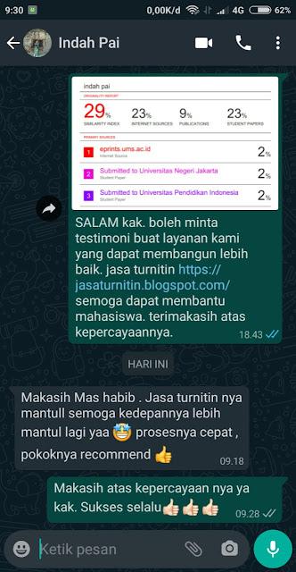 Hasil Turnitin Mbak Indah FAI UMS