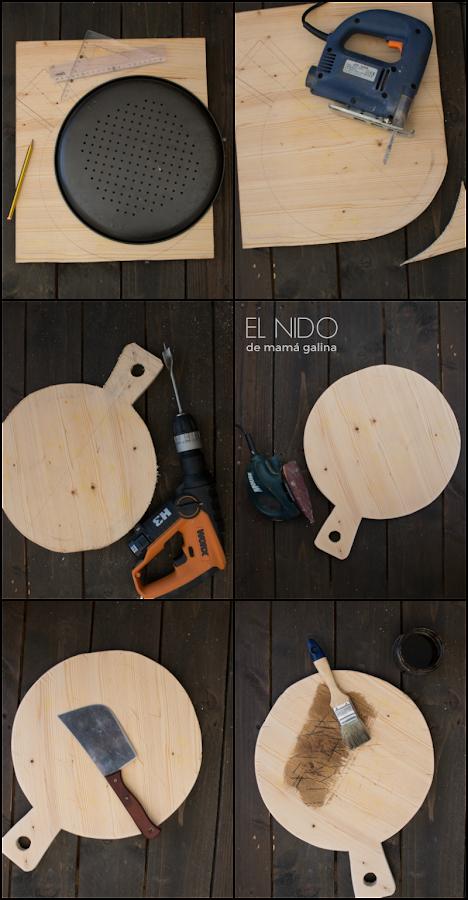 DIY pizza board