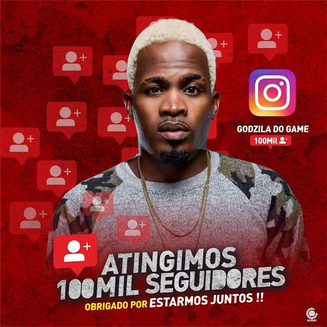 Godzila Do Game agradece fãs pela conquista de 100 mil seguidores no Instagram