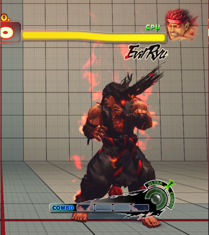 Super Street Fighter Iv Arcade Edition Costumes Evil Ryu S