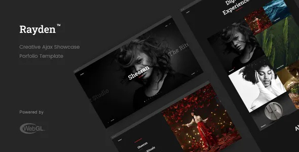 Best Creative Ajax Portfolio Showcase Slider Template