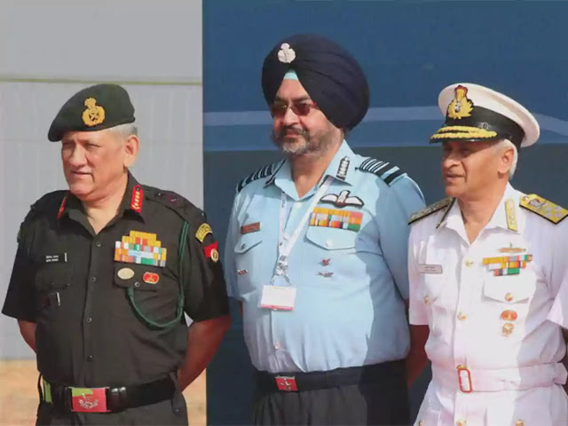 Army, Navy, IAF to jointly train for nuclear biological chemical warfare and intelligence