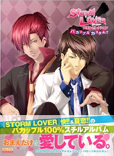 [Artbook] STORM LOVER スチルセレクション バカップルカスタム!! [STORM LOVERS Still Selection Bakappuru Custom!!]