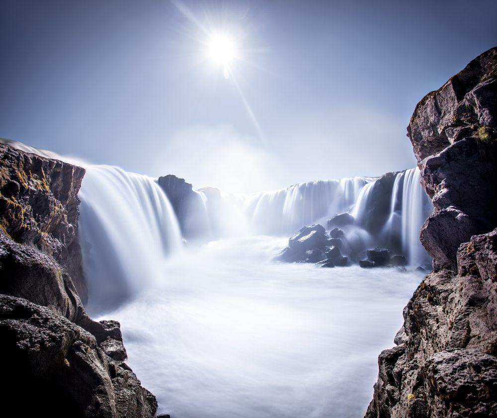 23. Hrafnabjargarfossar Waterfal