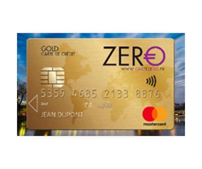 ZERO Gold MasterCard