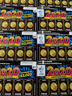 2020 Happy New Year Scratchcards