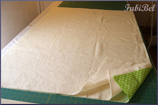 robin pandolph baby blanket quilting