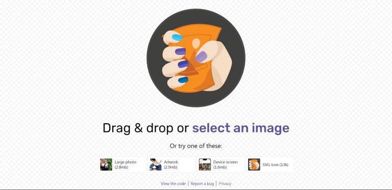 Squoosh.App أفضل موقع ضغط الصور من جوجل