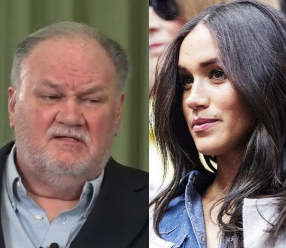Meghan's father says the British royals are not racist