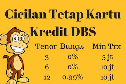 Cicilan Tetap Kartu Kredit DBS ex ANZ