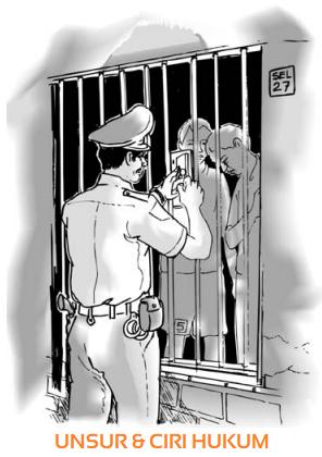4 Unsur Hukum & Ciri-Ciri Hukum