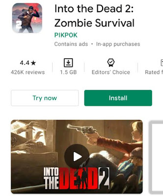 game under 2Gb 2021 - in to the dead 2