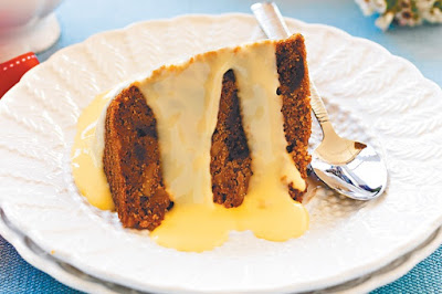 Fig and ginger Christmas pudding Recipe