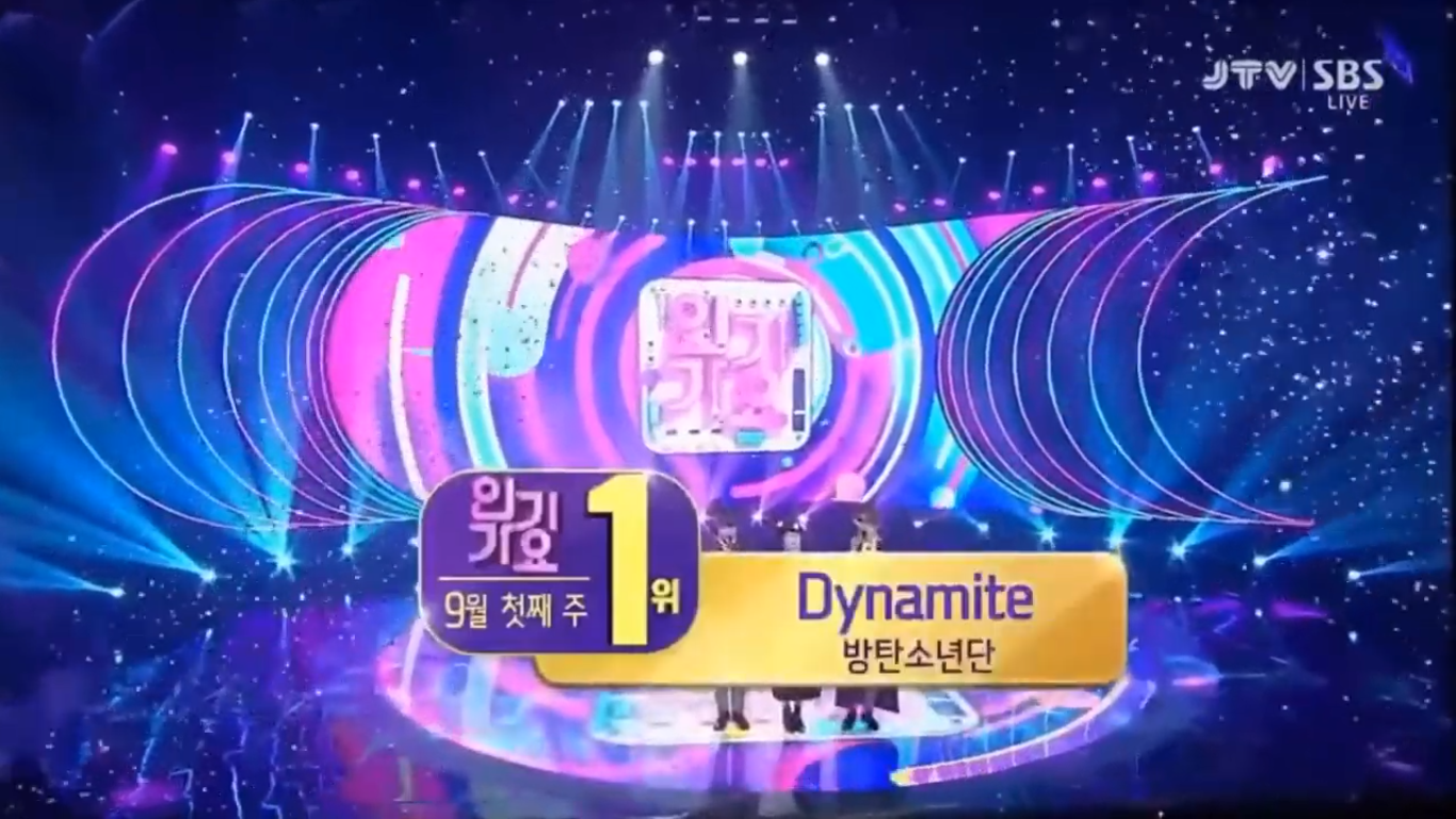 BTS Takes Home The 6th Trophy For 'Dynamite'