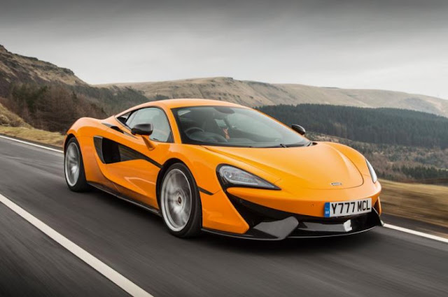 2016 MCLAREN 570S COUPE Performance and Reviews