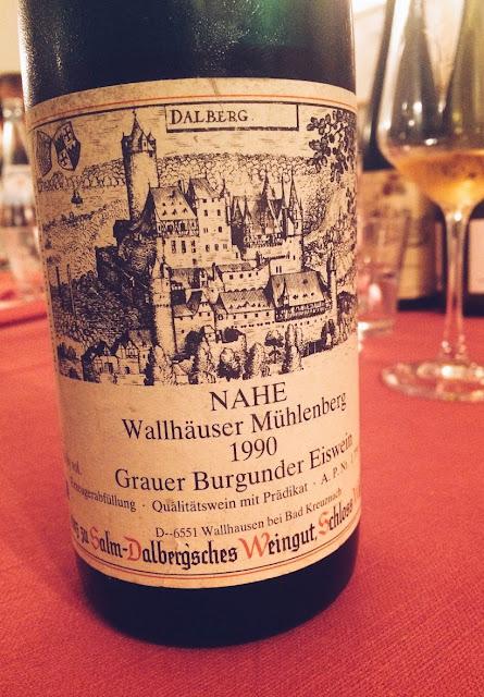 Grauburgunder vom Weingut Prinz Salm in Wallhausen an der Nahe